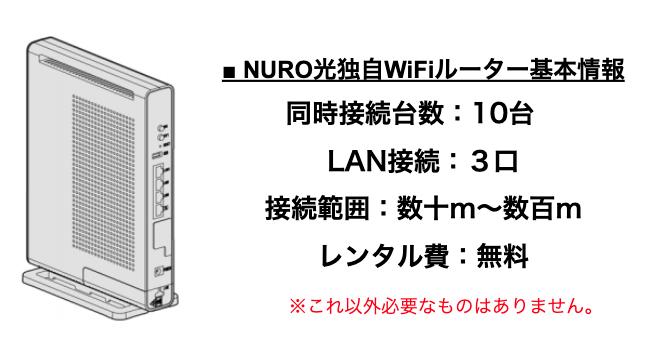 NURO光の戸建てプランは階数制限あり?3階でもルーターは設置できるの?