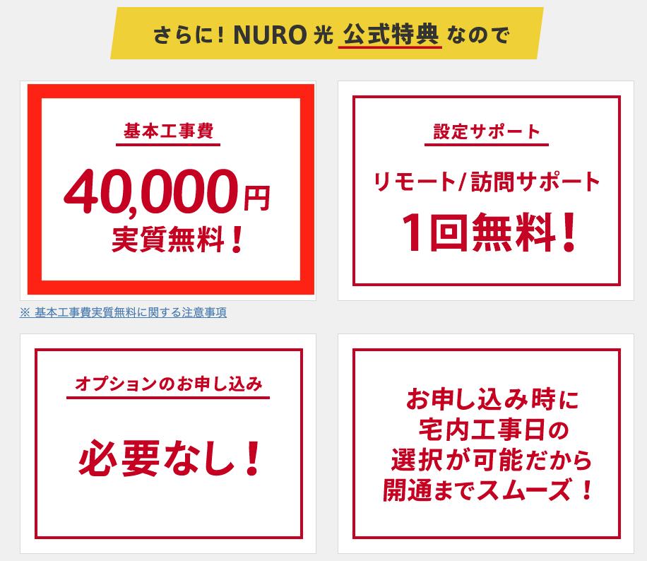 NURO光への乗り換えっていくらかかるの?合計料金とお得な申し込みについて